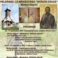 """Anunţ: Pelerinaj la Mănăstirea """"Sfânta Cruce"""" din Mintiul-Gherlii"""