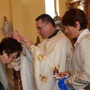Vizită pastorală şi hirotonire de preot la Dej