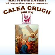 Calea Crucii biblică prin centrul municipiului Cluj-Napoca