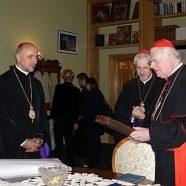 Cardinalul Angelo Scola, oaspete al Facultăţilor de Teologie şi al Eparhiei de Cluj-Gherla