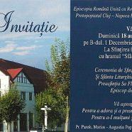 """Anunţ: Sfinţirea bisericii """"Sfânta Fecioară Maria"""" din Cluj-Napoca"""