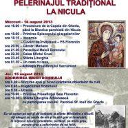 Anunţ: Pelerinajul tradiţional la Sanctuarul Maicii Domnului de la Nicula