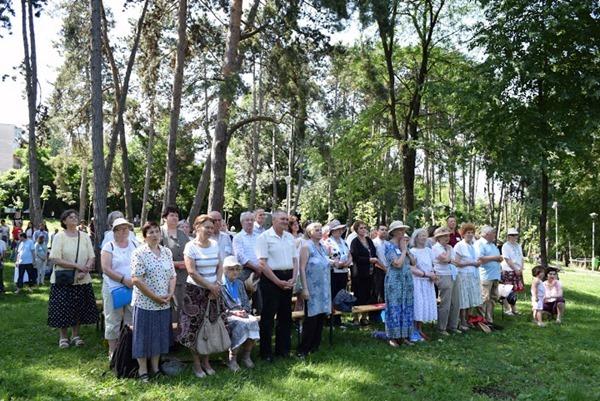 """25 iunie 2016 - Întâlnirea Familiilor în Parohia """"Sf. Familie"""", cart. Zorilor, Cluj-Napoca"""