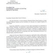 Mesajul PS Mihai adresat PS Claudiu Lucian cu ocazia numirii de astăzi