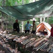 PS Claudiu la o tabără de vară a Cercetașilor munților